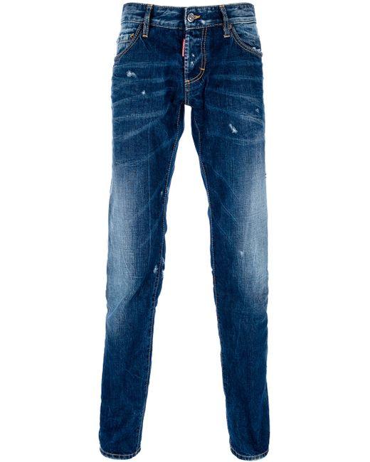 DSquared²   Blue Denim Pants   Lyst
