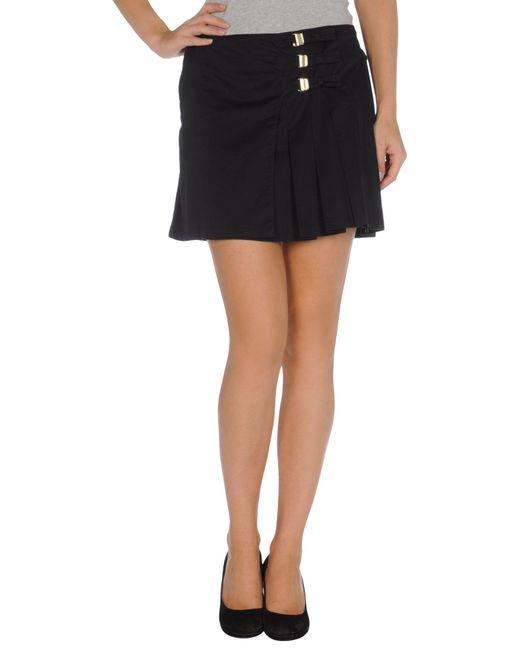 Ermanno Scervino | Black Mini Skirt | Lyst