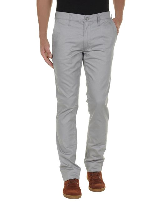 Cheap Monday | Gray Casual Trousers for Men | Lyst