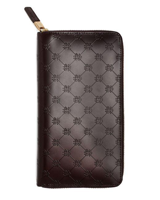 Brooks Brothers | Brown Golden Fleece® Embossed Travel Wallet for Men | Lyst