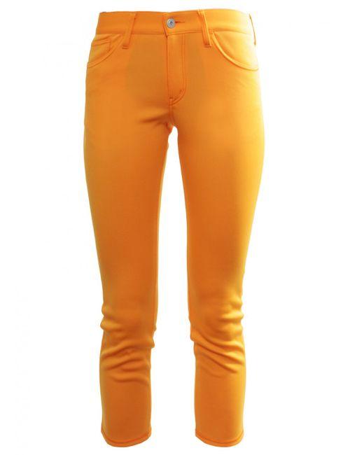 Junya Watanabe | Cropped Sports Luxe Trousers Orange | Lyst