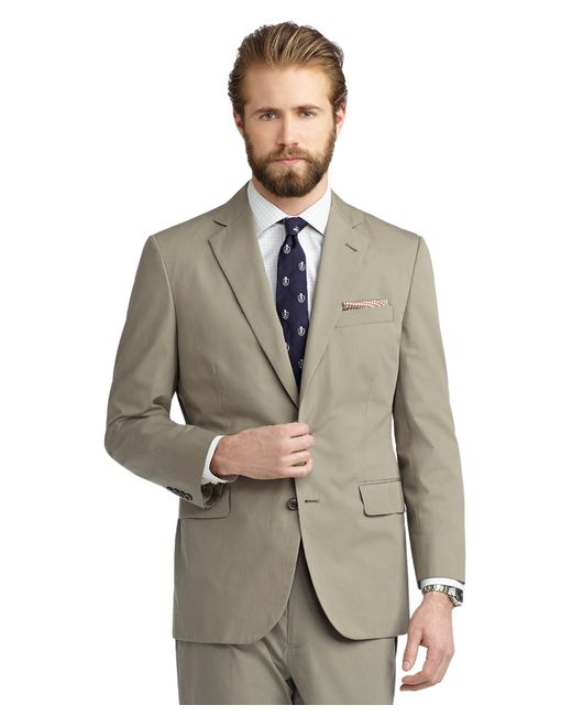 Brooks Brothers | Green Madison Fit Poplin Suit for Men | Lyst