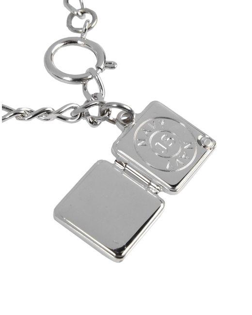 Jil Sander Navy   Metallic Bracelet   Lyst