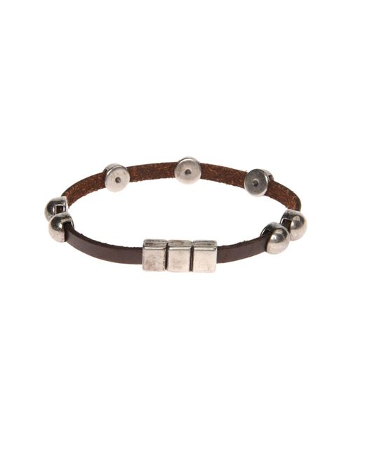 Will Leather Goods | Brown Bracelet | Lyst