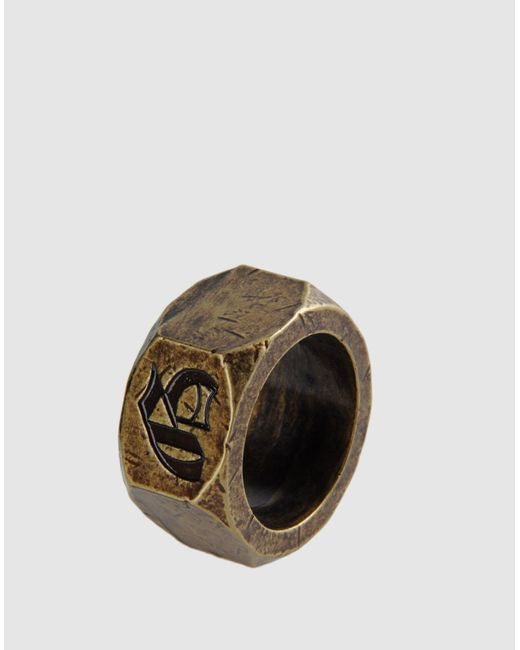 John Galliano | Metallic Ring | Lyst