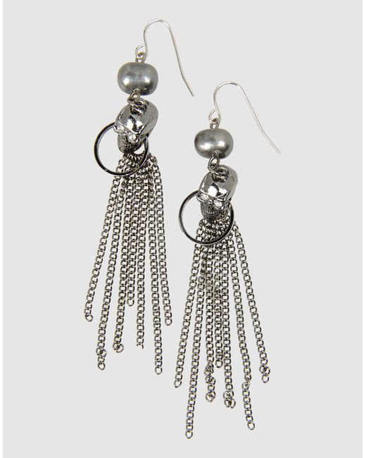 Noir Jewelry | Gray Earrings | Lyst