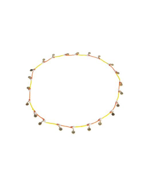 Pieces | Yellow Necklace | Lyst