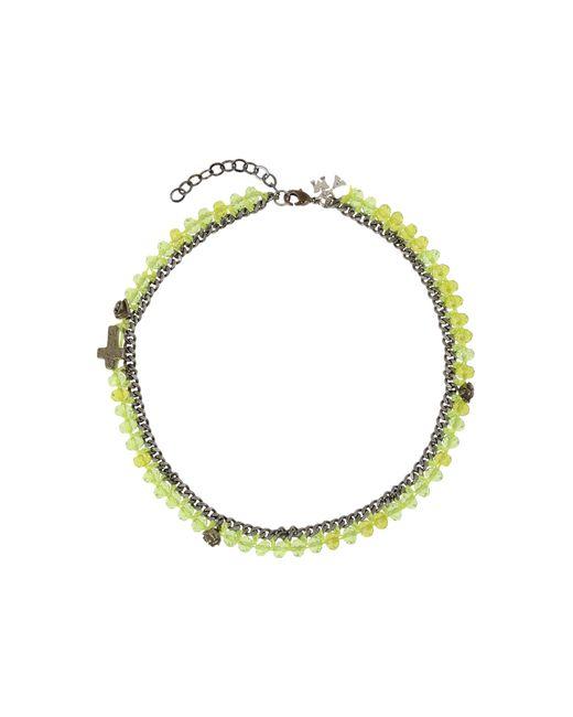 Assad Mounser | Green Necklace | Lyst