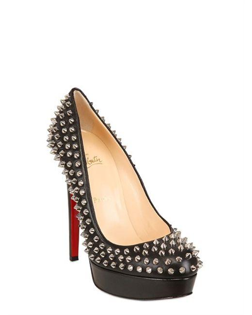 fake louboutin shoes online - Christian louboutin Women\u0026#39;s goldopump Court Shoes in Black | Lyst