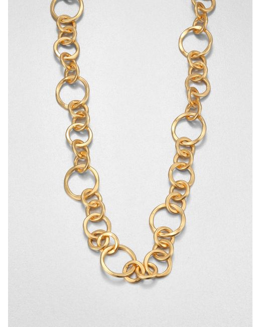 Stephanie Kantis | Metallic Coronation Large Chain Necklace/42 | Lyst