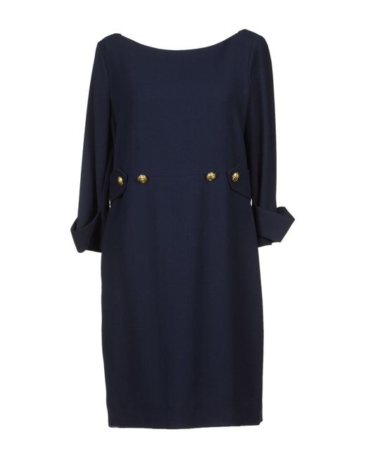 Moschino | Black Short Dress | Lyst