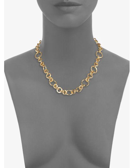 Stephanie Kantis | Metallic Coronation Small Chain Necklace/18 | Lyst