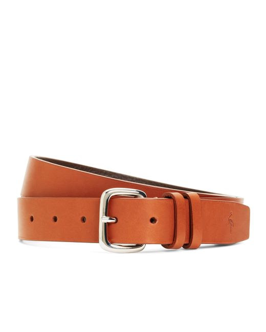 Brooks Brothers | Brown Harrys Of London® Satin Calfskin Belt for Men | Lyst
