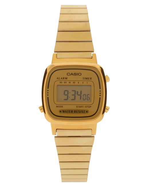 G-Shock | Metallic Mini Digital Watch La670wega-9ef | Lyst