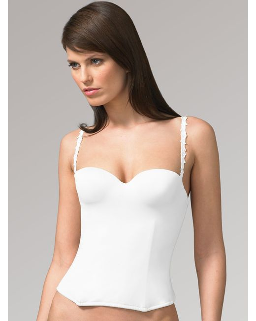 Le Mystere | White Bridal Bustier | Lyst