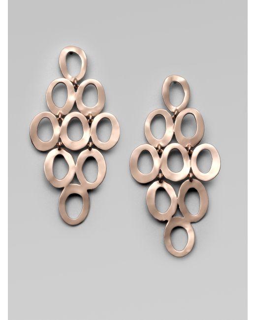 Ippolita | Pink Rose Carino Open Cascade Earrings | Lyst