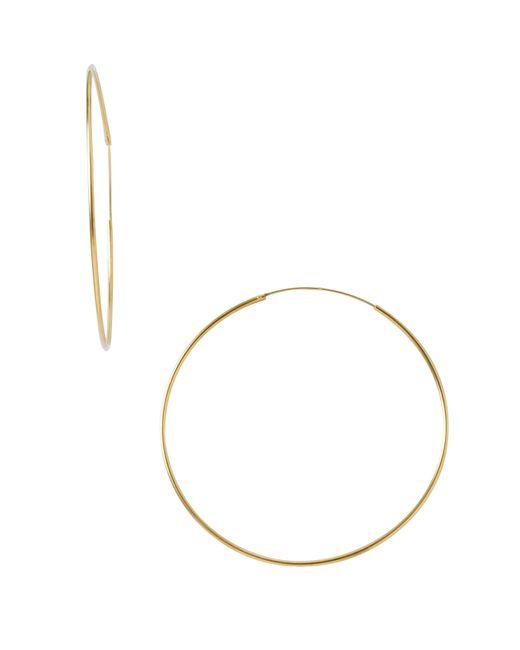 Argento Vivo | Metallic Endless Extra Large Hoop Earrings | Lyst