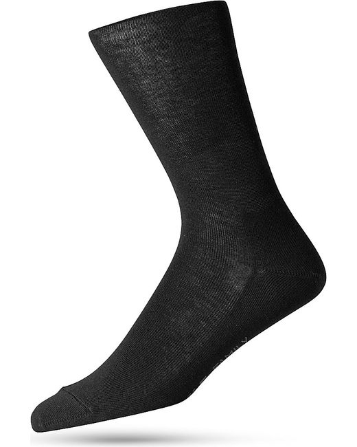 Falke | Black Family Cotton Socks for Men | Lyst
