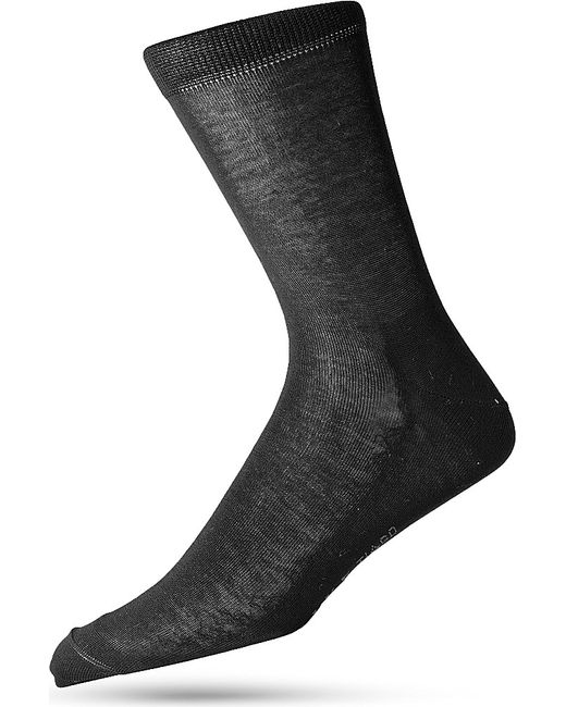 Falke | Black Tiago Cotton-blend Socks for Men | Lyst