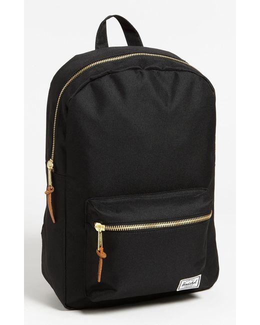 Herschel Supply Co. | Black 'settlement Mid Volume' Backpack | Lyst