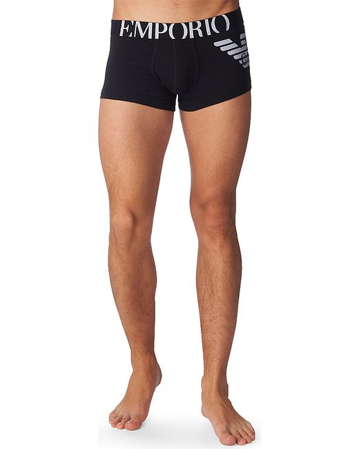 Emporio Armani | Black Eagle Trunks for Men | Lyst