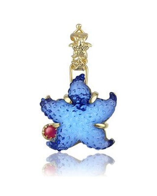 Tagliamonte | Marina Collection - Blue Starfish Ruby & 18k Gold Pendant | Lyst