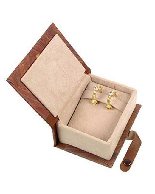 Torrini | Metallic Rondelle - 18k Gold And Diamond Earrings | Lyst