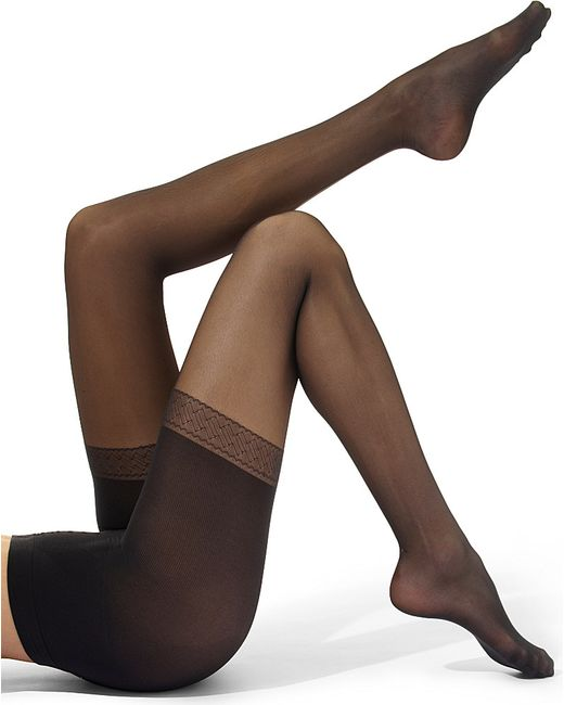 Wolford | Black Synergy Push-up 20 Tights | Lyst