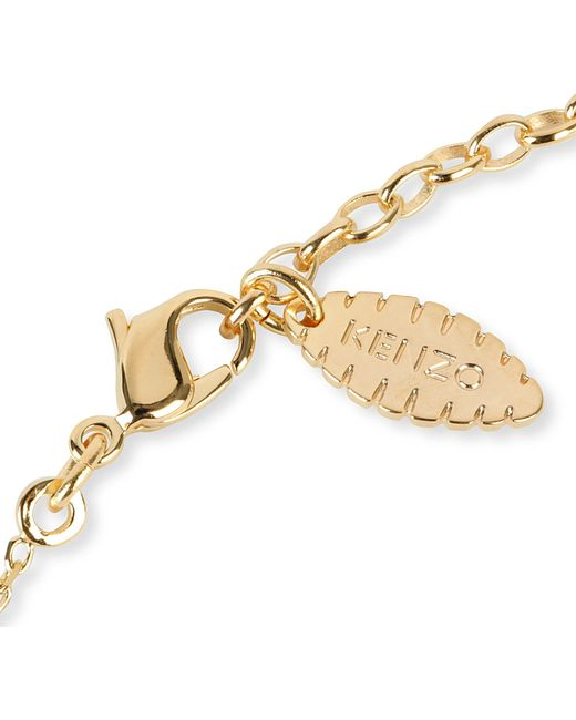 KENZO | Metallic Tiger Necklace | Lyst