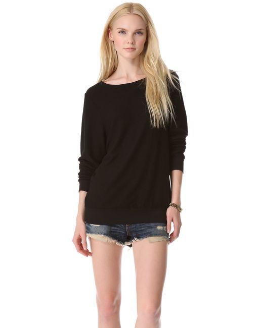 Wildfox | Black Basic Pullover | Lyst