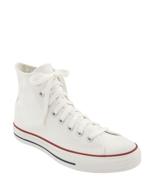 Converse | White Chuck Taylor High Top Sneaker | Lyst
