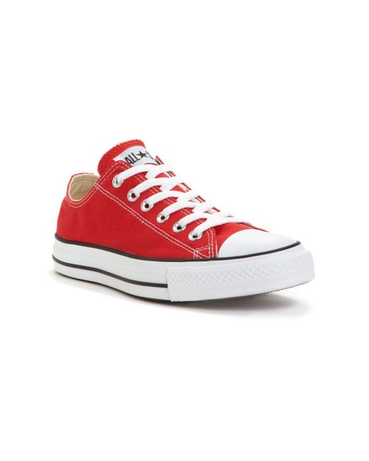 Converse | Red All Star Low for Men | Lyst