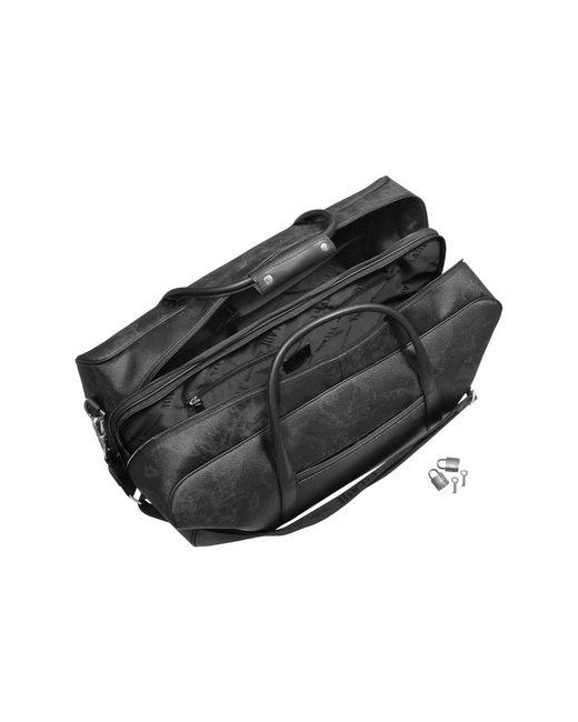 Alviero Martini 1A Classe   1a Prima Classe - Geo Black Double Compartment Zip Travel Bag   Lyst
