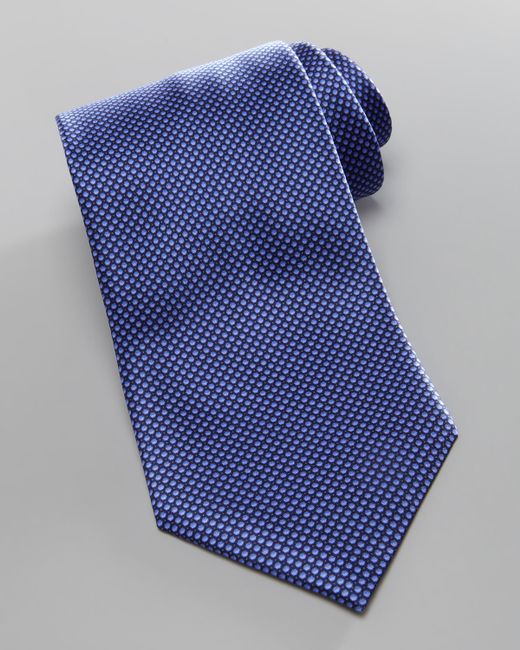 Brioni | Blue W Microneat for Men | Lyst