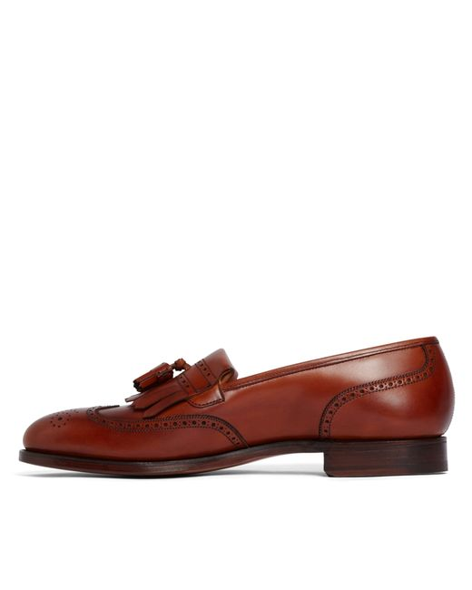 Brooks Brothers | Brown Peal & Co.® Kiltie Tassel Loafers for Men | Lyst