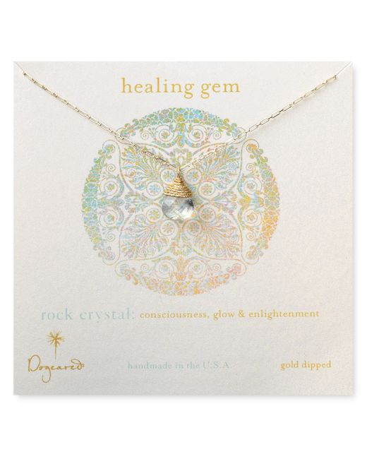 Dogeared | Metallic 'healing' Beaded Necklace | Lyst