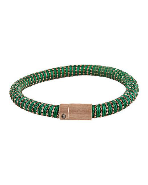 Carolina Bucci | Metallic Light Green Twister Band Bracelet | Lyst