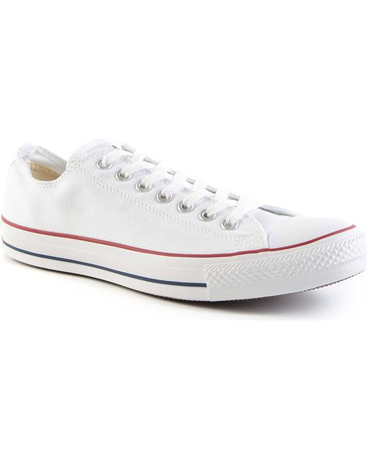 Converse | White All Star Low-top Trainers for Men | Lyst