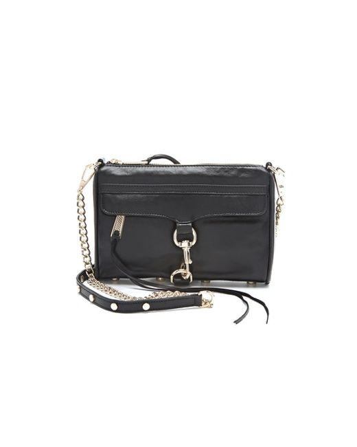 Rebecca Minkoff | Black Mini Mac Bag | Lyst