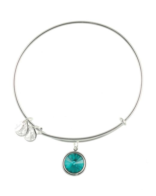 ALEX AND ANI | Metallic December Birthstone Bangle | Lyst
