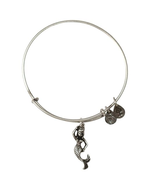 ALEX AND ANI | Metallic Mermaid Bangle | Lyst