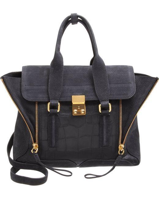 3.1 Phillip Lim | Black Pashli Mini Leather Shoulder Bag | Lyst