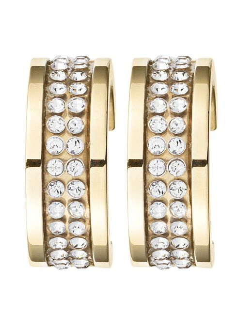 Dyrberg/Kern | Metallic Kimmie Gold Crystal Earrings | Lyst