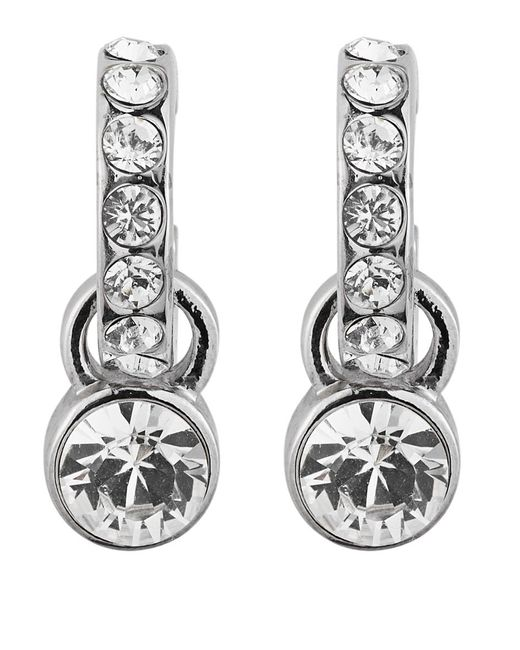 Dyrberg/Kern | Metallic Dyrberg/kern Laurino Swarovski Crystal Earrings | Lyst