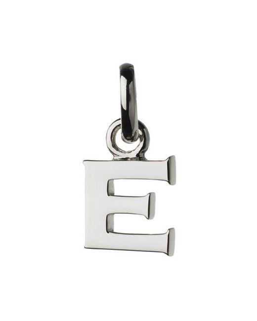 Links of London | Metallic E Charm | Lyst