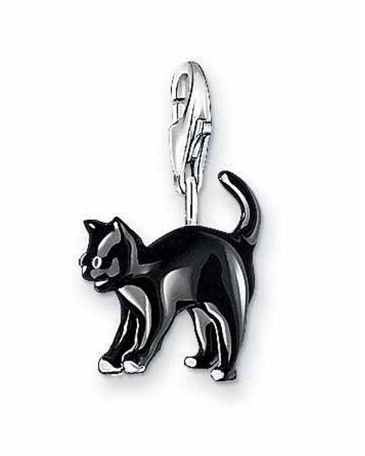 Thomas Sabo | Charm Club Black Cat | Lyst