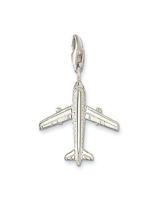 Thomas Sabo | Metallic Charm Club Airplane | Lyst