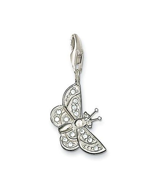 Thomas Sabo | White Charm Club Butterfly | Lyst
