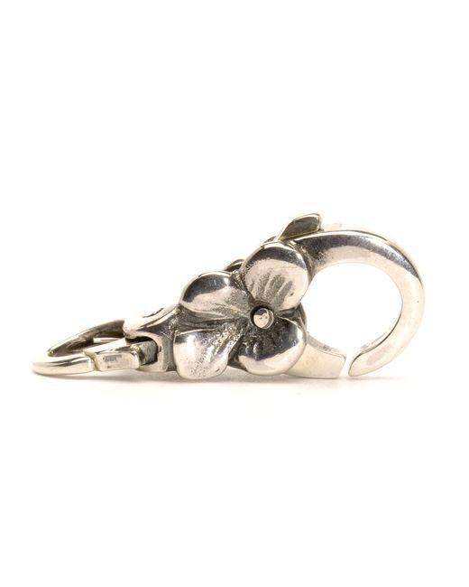 Trollbeads | Metallic Silver Flower Lock | Lyst