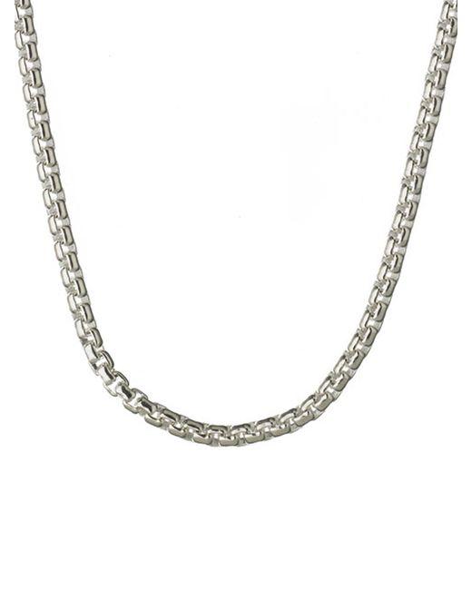 Links of London | Metallic Box Belcher Chain - 67cm | Lyst